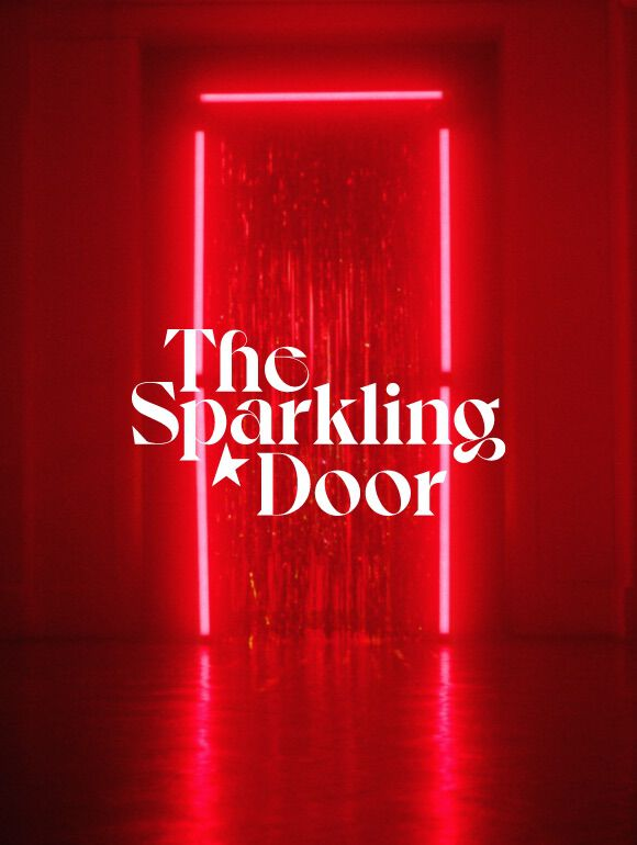 the sparkling door