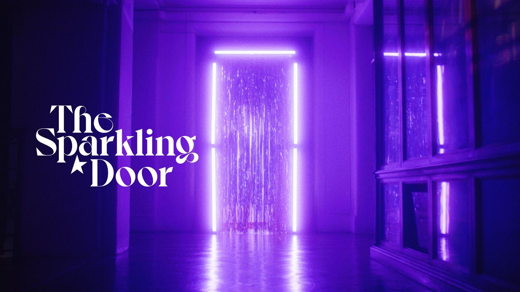 the sparkling door