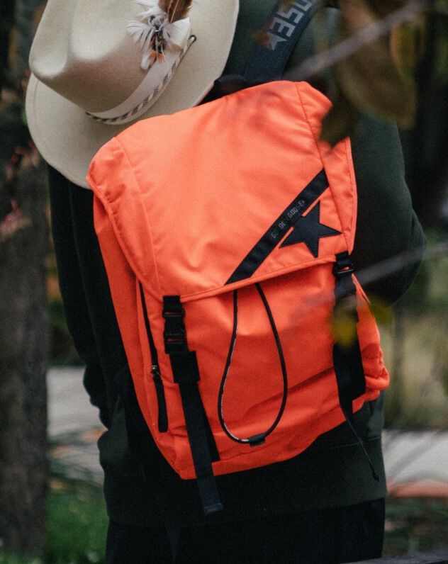 man backpack