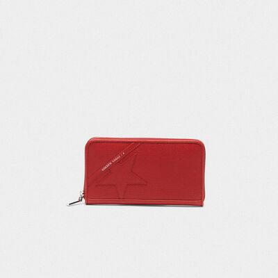 Portafoglio Star Wallet large rosso