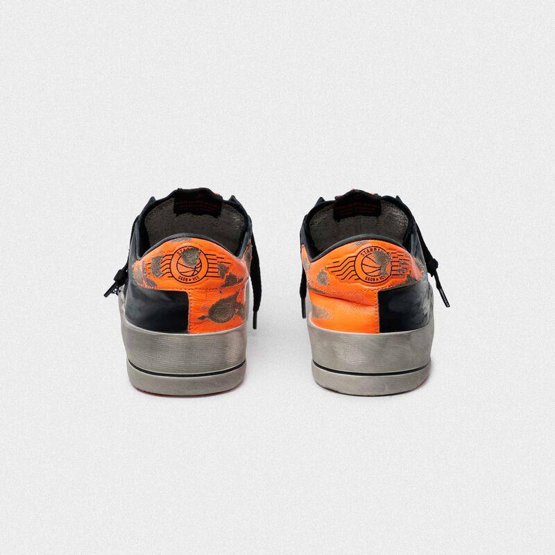 Golden Goose - Sneakers Stardan nere e arancioni in  image number null