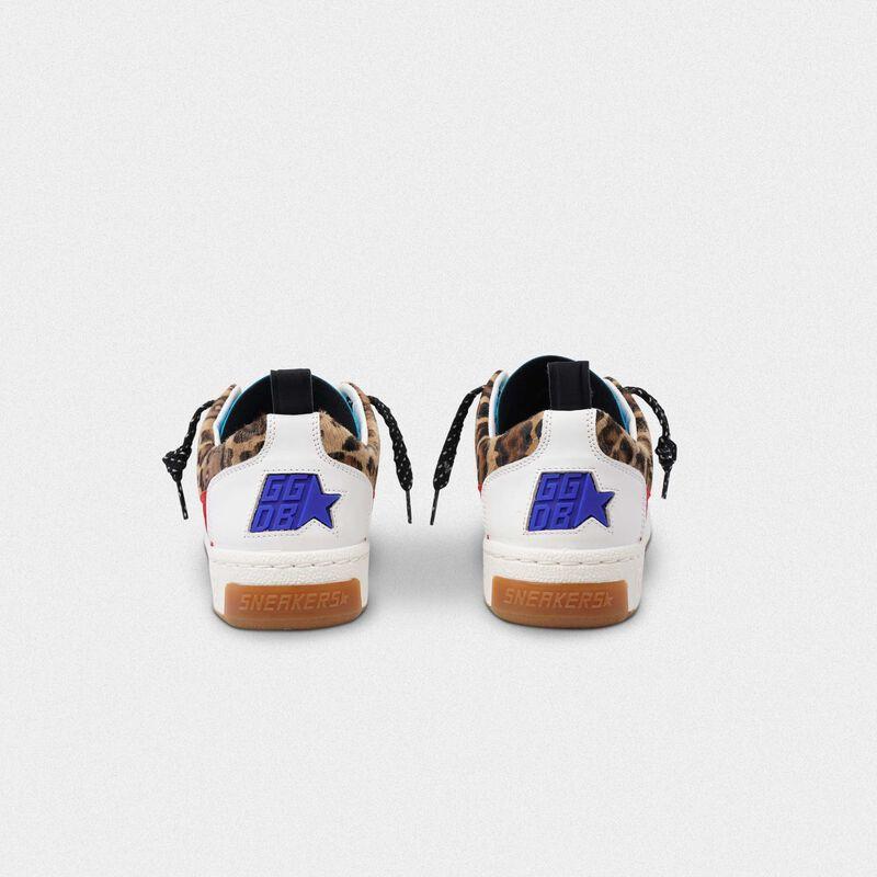 Golden Goose - Sneakers Yeah! leopardate con stella dorata in  image number null