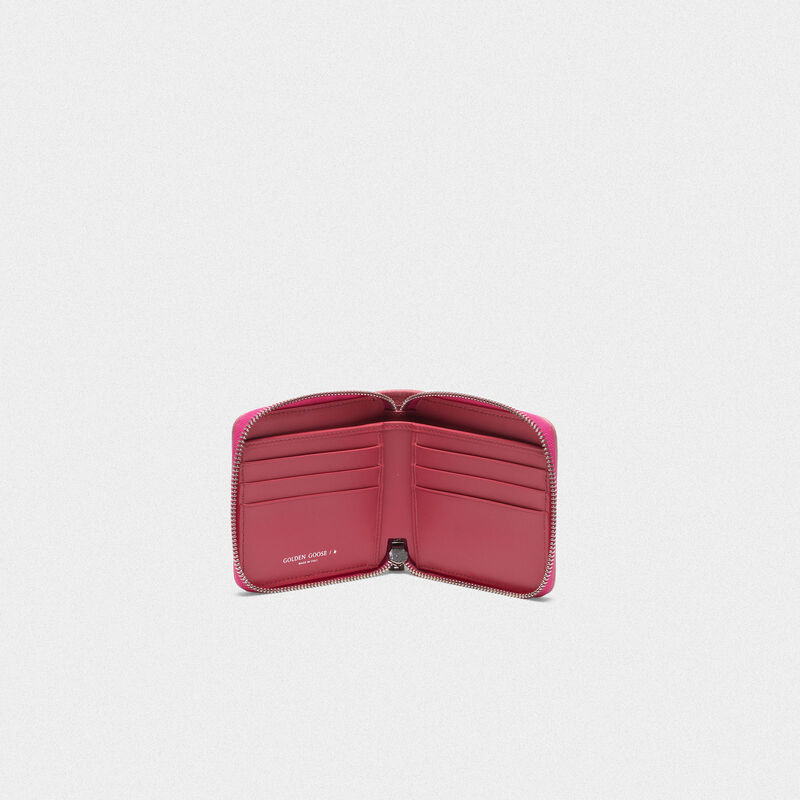 Golden Goose - Medium pink Star Wallet in  image number null