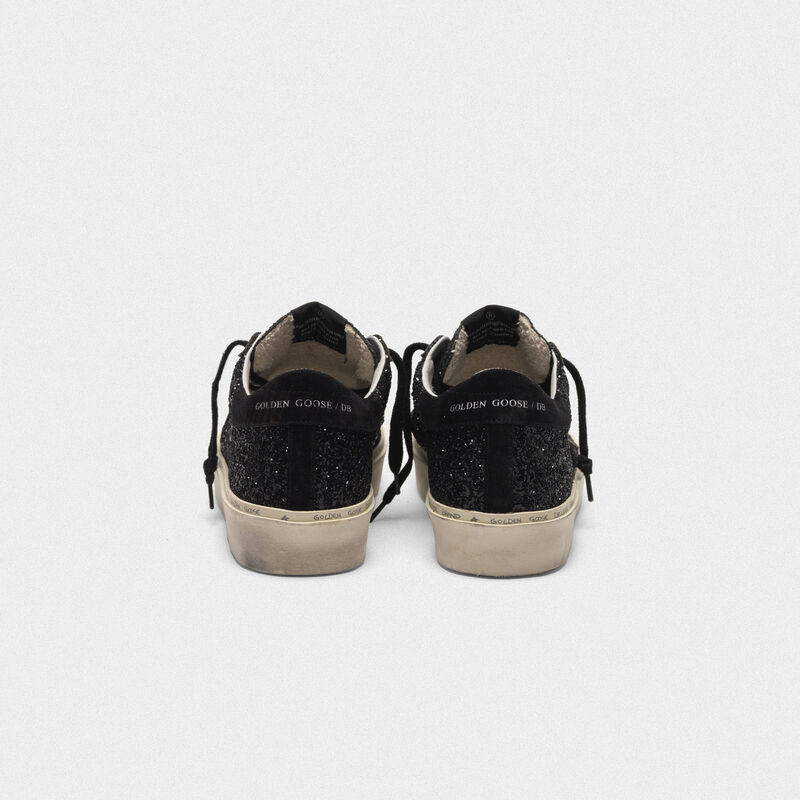 Golden Goose - Hi Star sneakers black glitter upper in  image number null