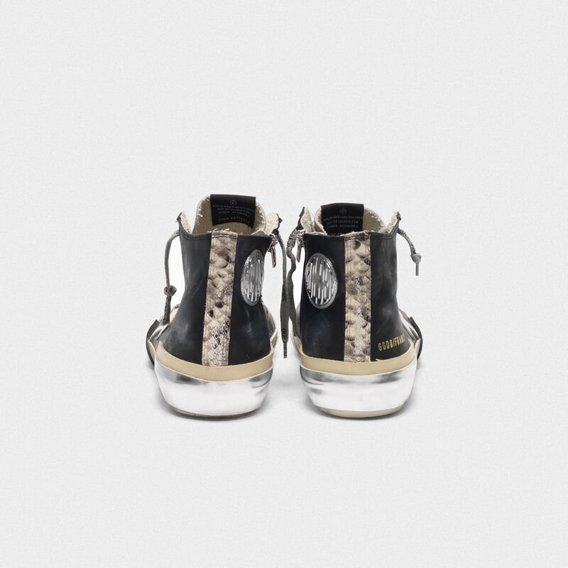 Golden Goose - Sneakers Francy nere patchwork multi-foxing in  image number null