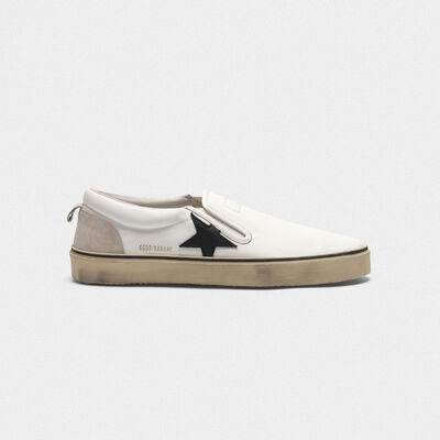 Hanami sneakers with contrast star and suede back