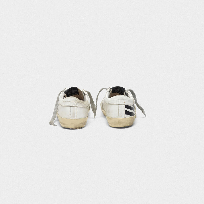 Golden Goose - Superstar sneakers with screen-printed GGDB flag in  image number null