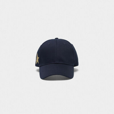 Aki baseball cap in cotton drill