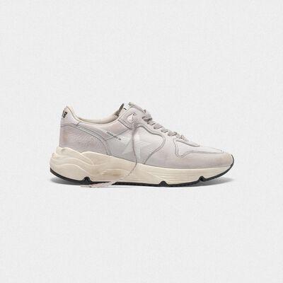 Sneakers Running Sole in nabuk
