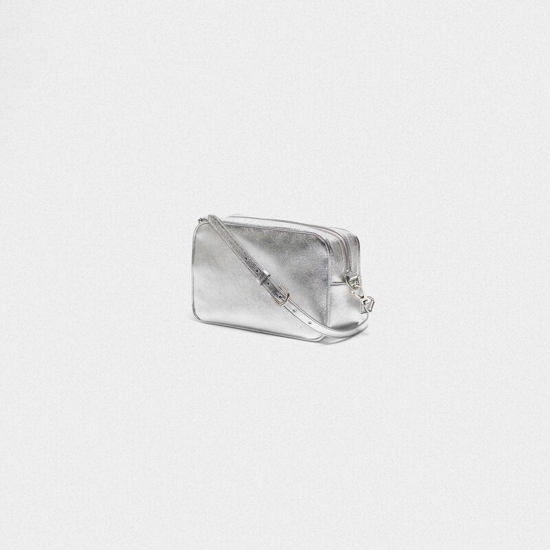 Golden Goose - Borsa Star Bag in pelle laminata con cristalli in  image number null