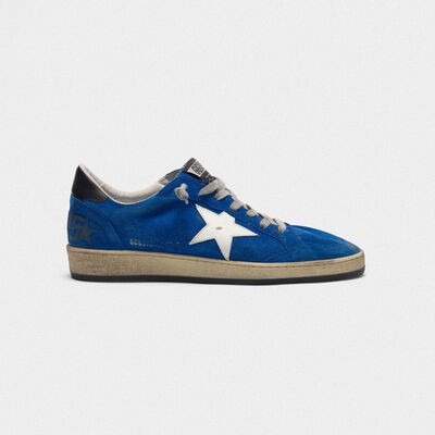 Ball Star sneakers in suede with leather star and heel tab