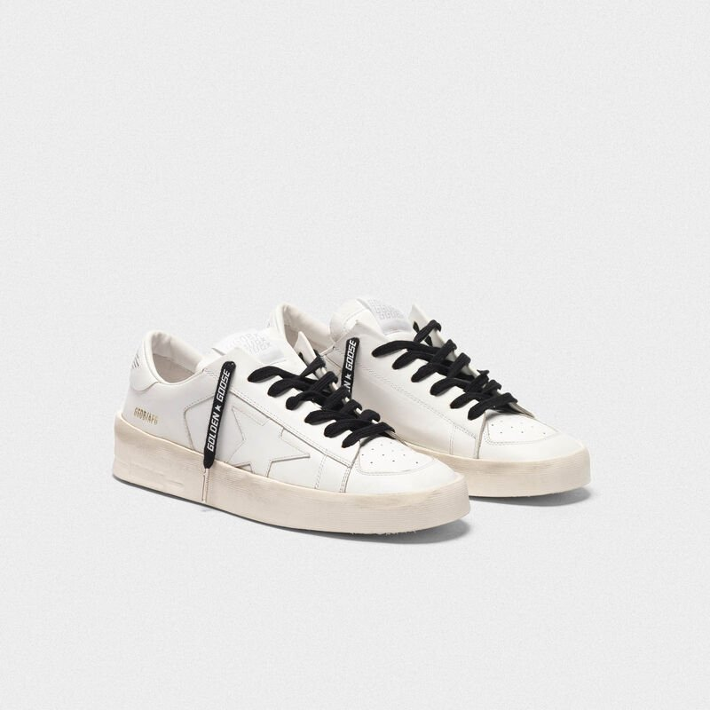 Golden Goose - Cotton laces with logo print in  image number null