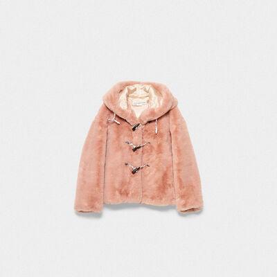 Tsubaki jacket in soft faux fur