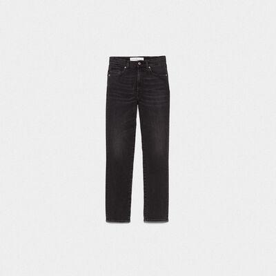 Leggy skinny jeans in cotton denim