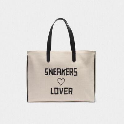 "Borsa California East-West ""Sneakers Lovers"""