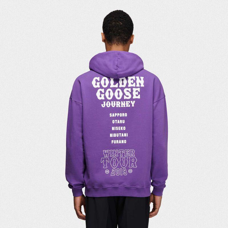 Golden Goose - Felpa Hokkaido Travel Guide in  image number null
