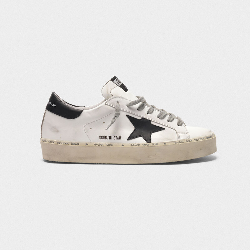 0320d9fb7b Hi Star sneakers in leather with black star