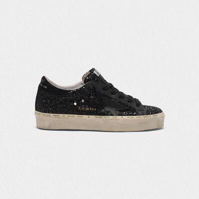 Hi Star sneakers black glitter upper