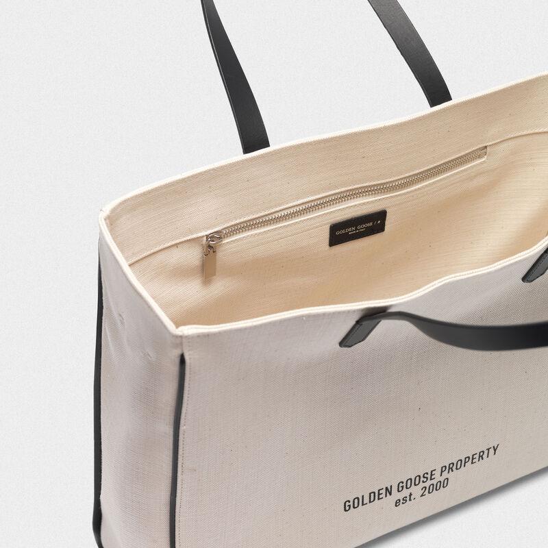 "Golden Goose - ""Golden Property"" East-West California Bag in  image number null"