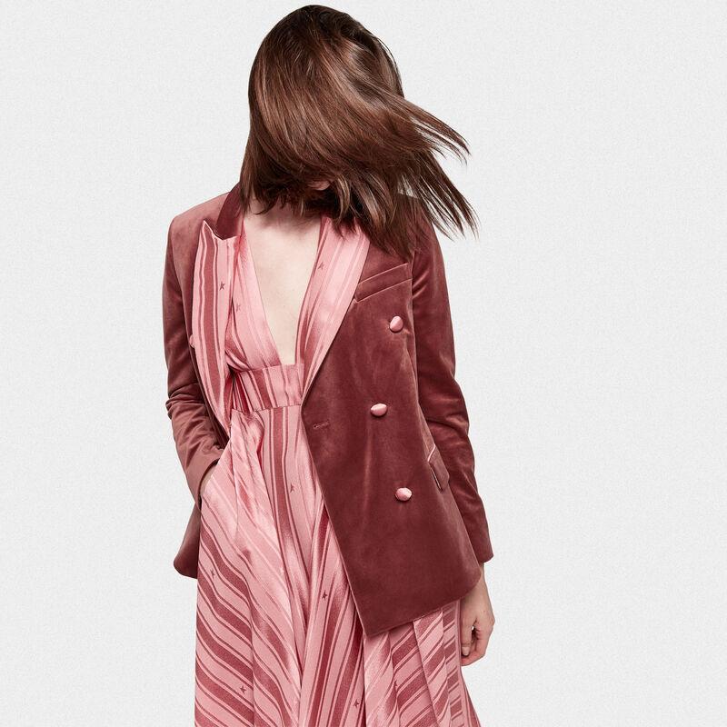 Misam jacket in velvet with satin lapels