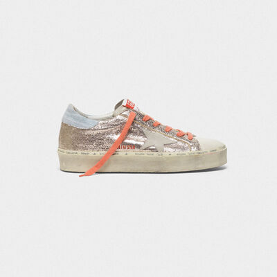 Hi Star sneakers in patent leather with lizard print