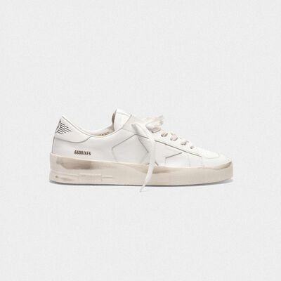 Sneakers Stardan in pelle total white