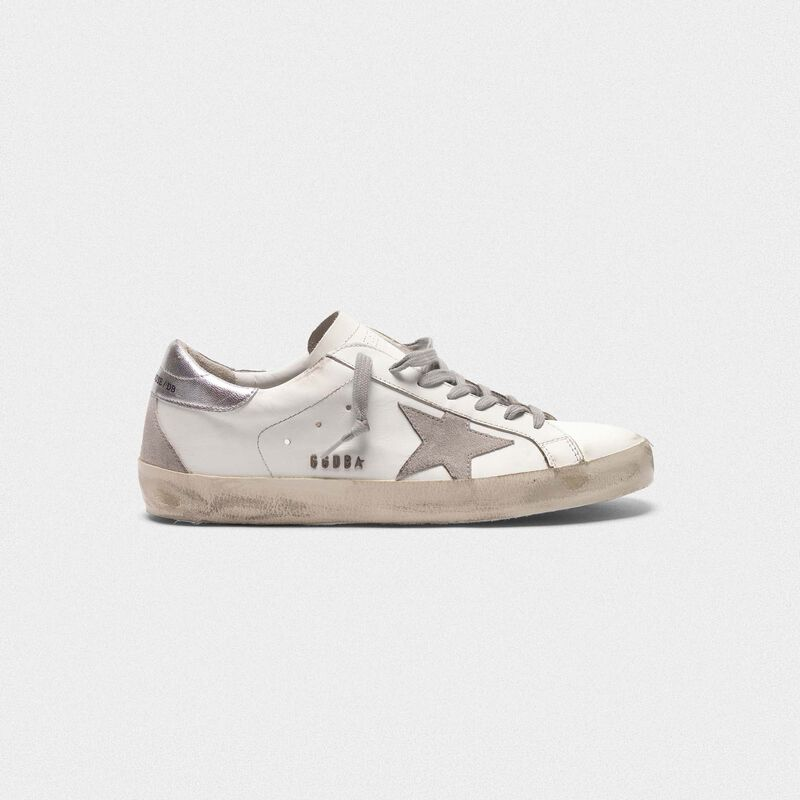 Golden Goose - Superstar sneakers with laminated heel tab in  image number null