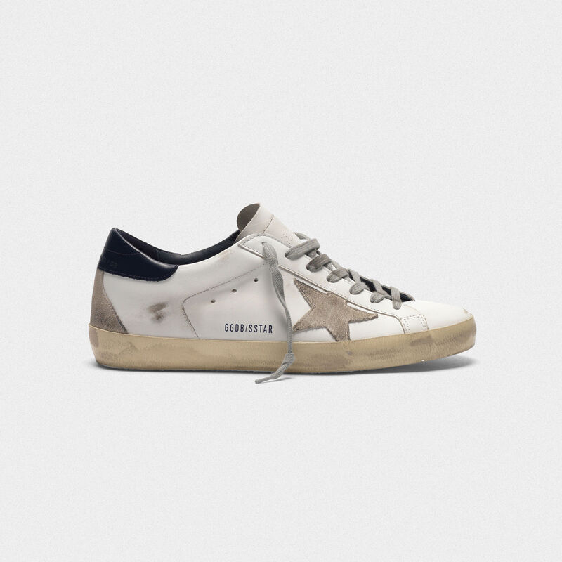 enorme sconto ba28d 41f0a Superstar sneakers in leather with suede star