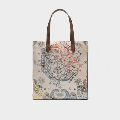 North-South California Bag with bandana print