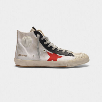 Francy sneakers in canvas with printed star