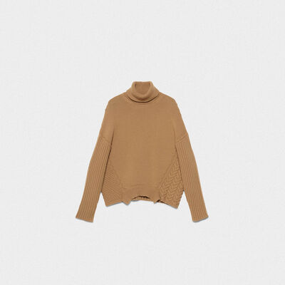 Kaede turtleneck sweater in extrafine merino wool
