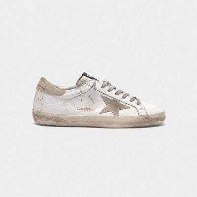Superstar sneakers in varnished-look leather