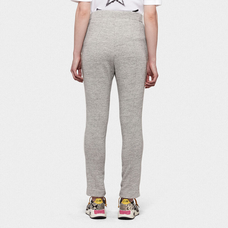 Golden Goose - Pantaloni joggers Emi in cotone con logo in  image number null