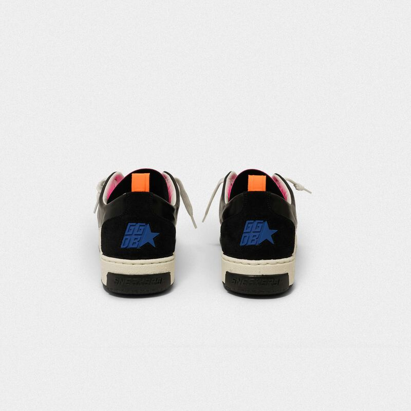 Golden Goose - Black Yeah! sneakers with leopard-print star in  image number null