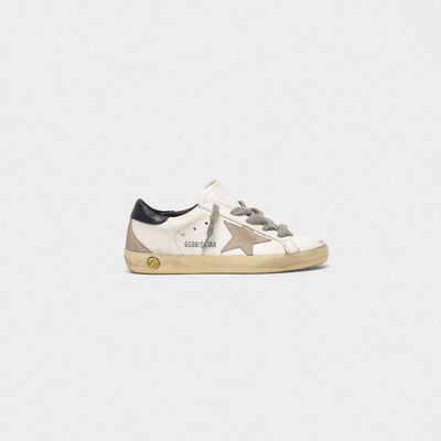 Sneakers Superstar con stella in camoscio