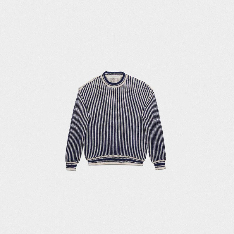 Golden Goose - Katherine sweater in Shetland wool in  image number null