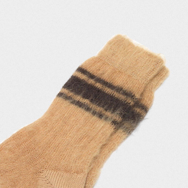 Golden Goose - Tsutsuji socks made of brushed mohair wool in  image number null