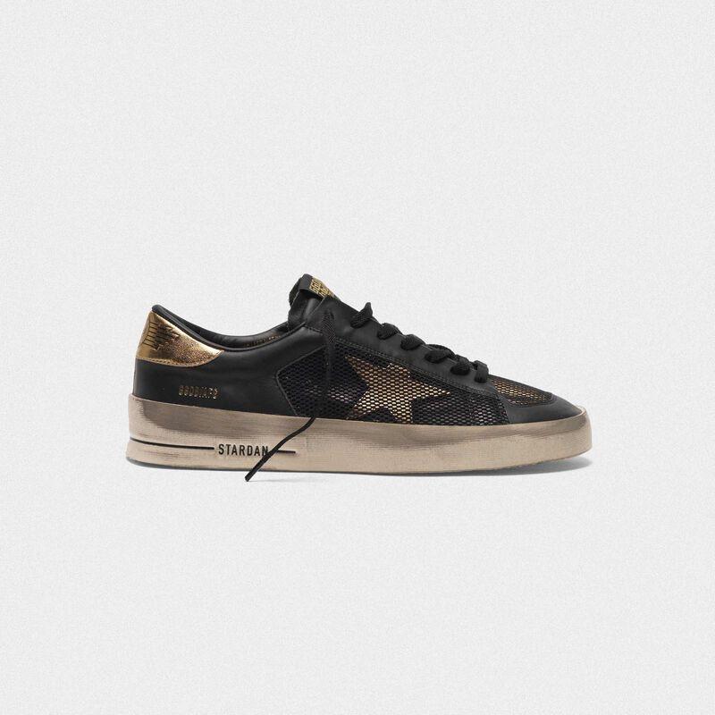Golden Goose - Sneakers Stardan in pelle con inserti in mesh in  image number null