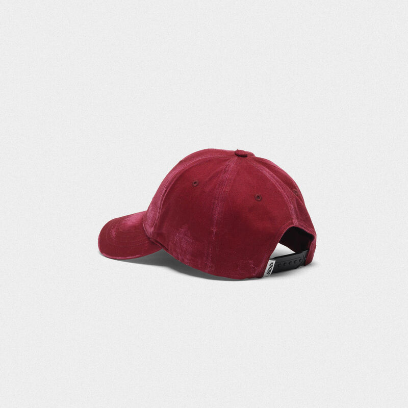 Golden Goose - Aki baseball cap with thread embroidery  in  image number null