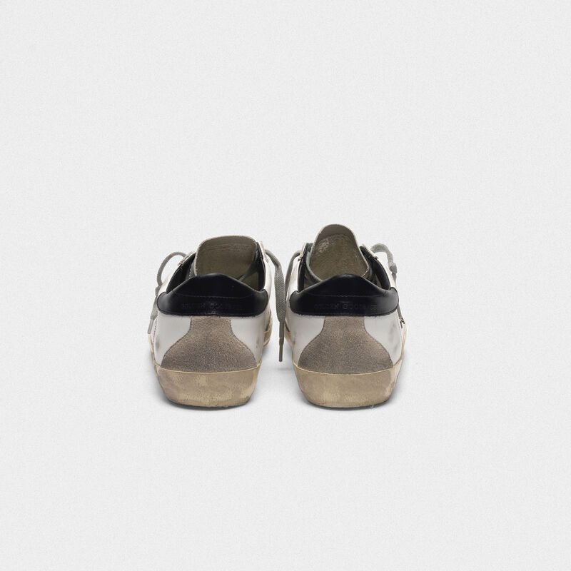 Golden Goose - Sneakers Superstar in pelle con talloncino lucido in  image number null