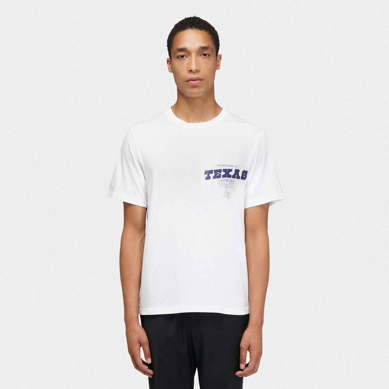 Golden Goose - Texas Travel Guide T-shirt in  image number null