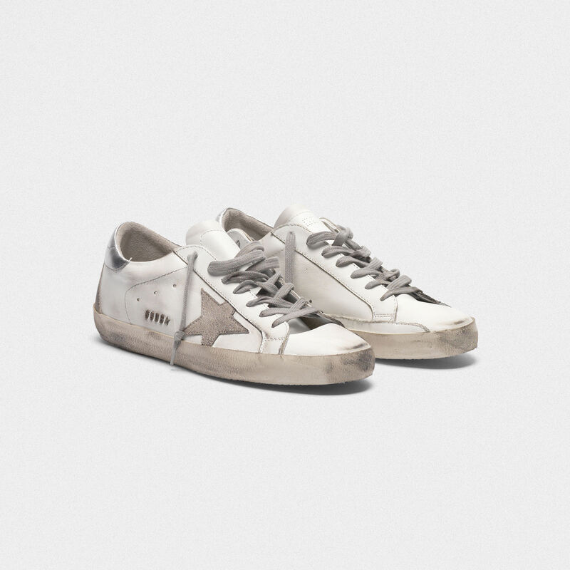 Golden Goose - Sneakers Superstar con talloncino laminato in  image number null