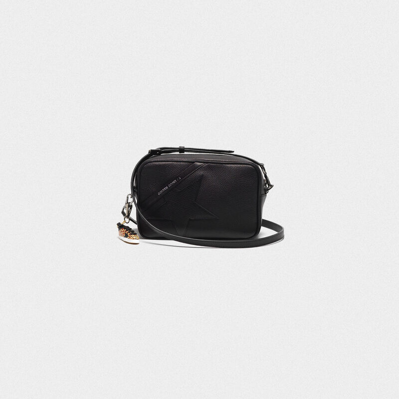 Golden Goose - Borsa Star Bag a tracolla in pelle granata  in  image number null