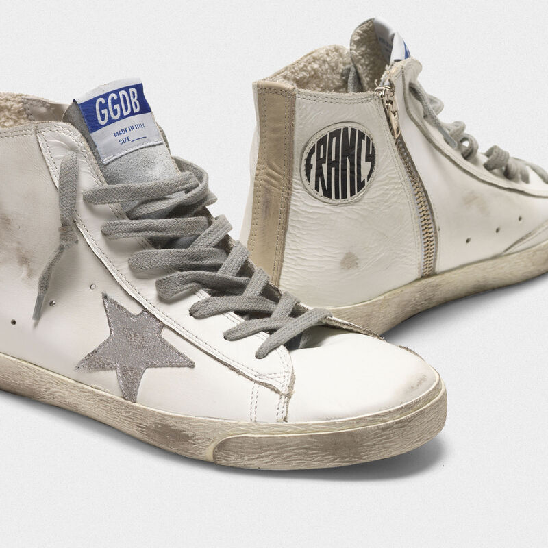 Golden Goose - Francy sneakers in leather with suede star in  image number null