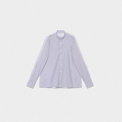 Yuji shirt in cotton poplin