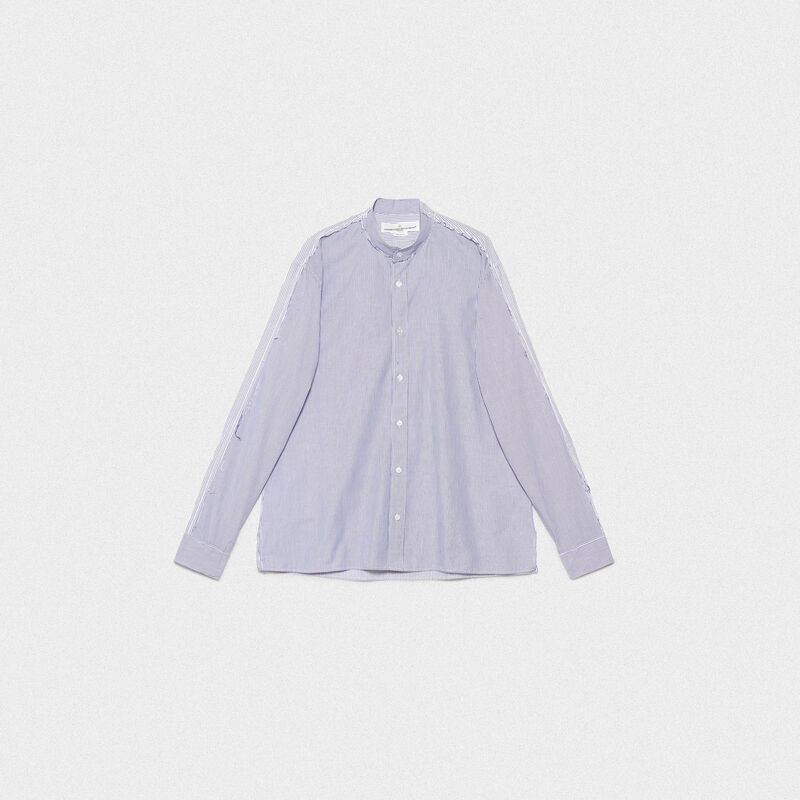 Golden Goose - Camicia Yuji in popeline di cotone  in  image number null