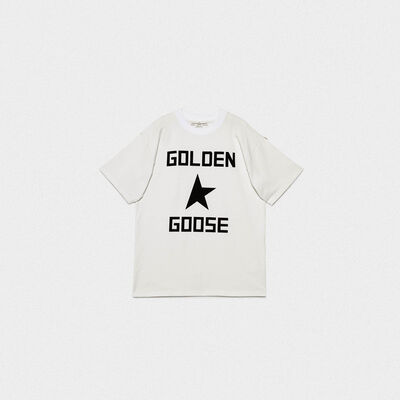 T-shirt Ryo in puro cotone con stampa logo