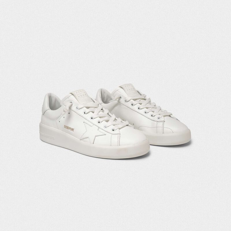 Golden Goose - PURESTAR white sneakers in  image number null