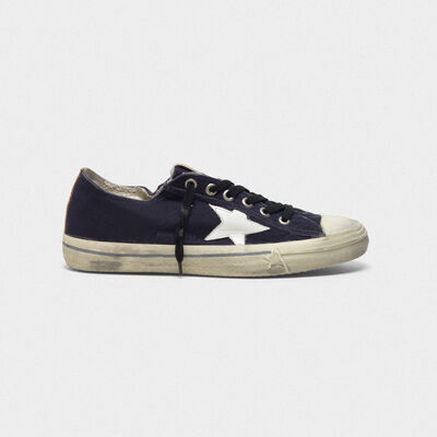 V-Star sneakers in suede with leather star