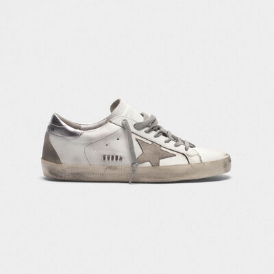 Superstar sneakers with laminated heel tab